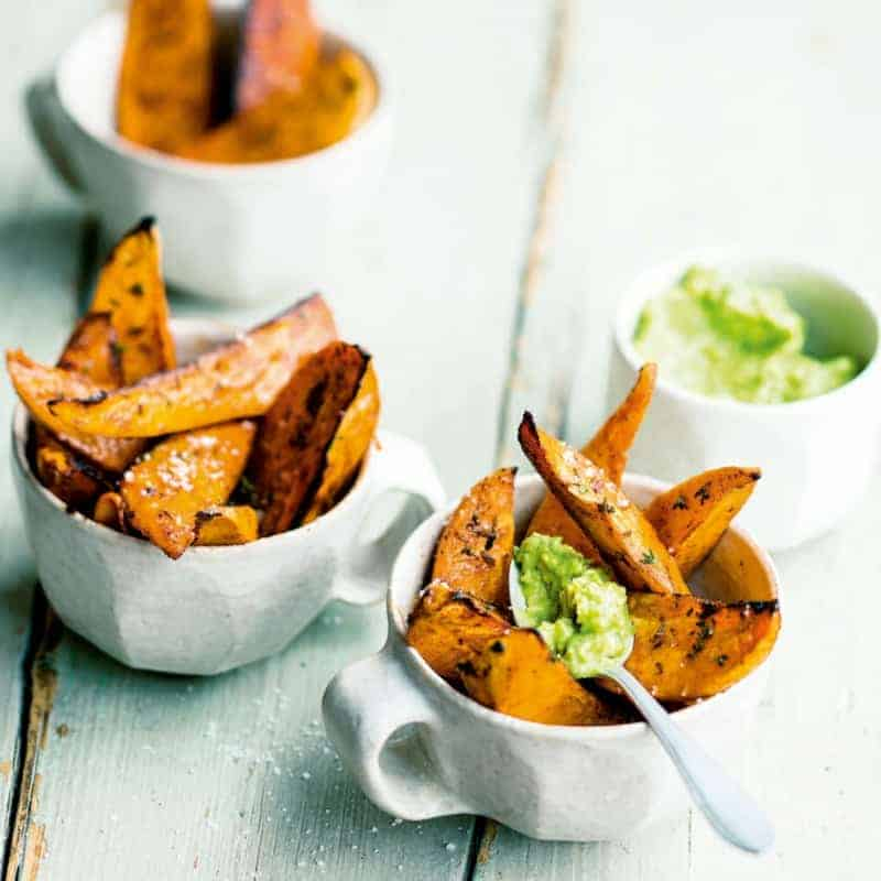 Süßkartoffel Pommes selber machen