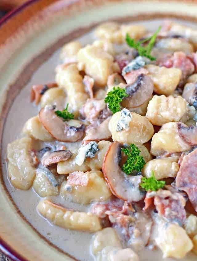 30-Min-Gorgonzolasauce Gnocchi lecker kochen