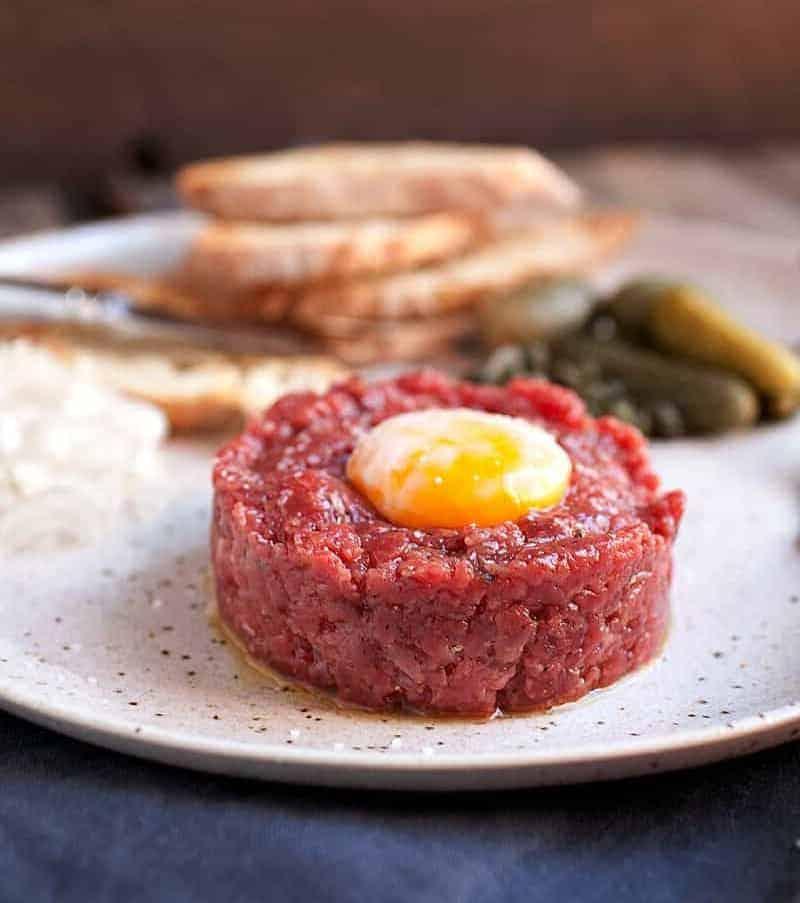 Tatar aus Rindfleisch – einfach herrlich