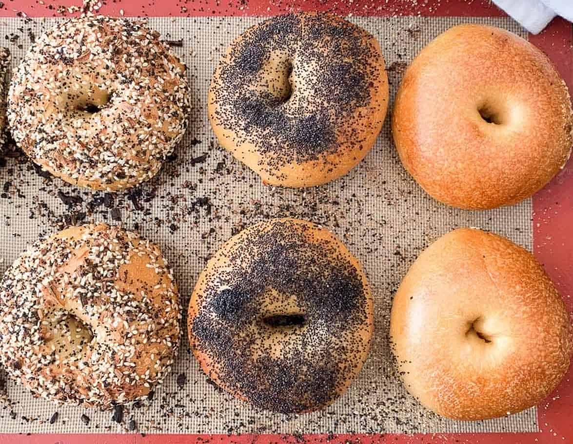 Gesundes Frühstück-Wie wäre es mit einem Bagel?