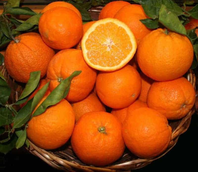reife Orangen Nährwerte