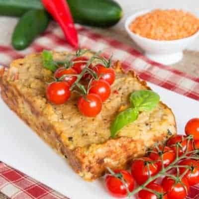rote Linsen Brot