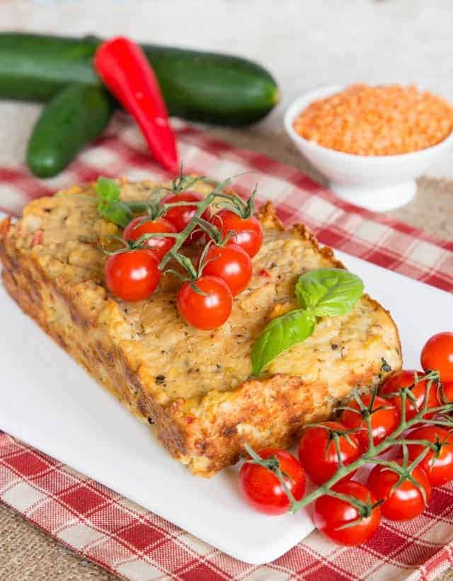 Rote Linsen Brot – vegetarisch und absolut köstlich!