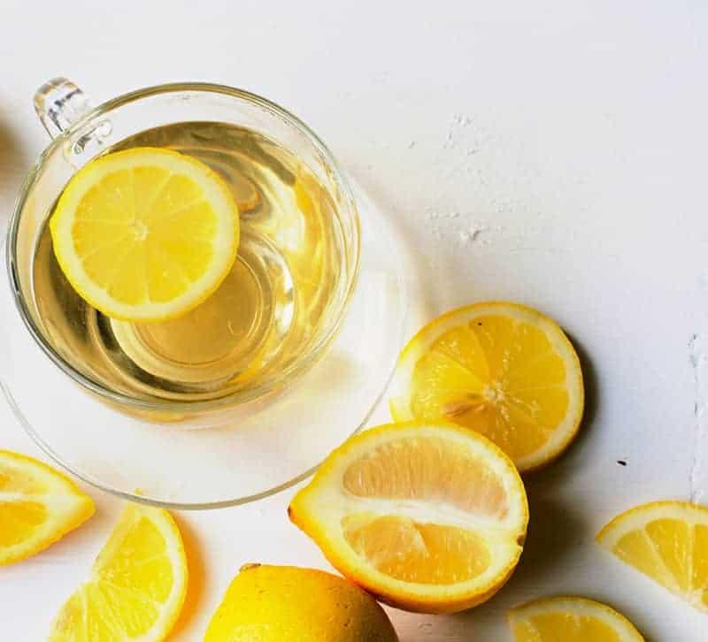 Zitronenwasser Detox