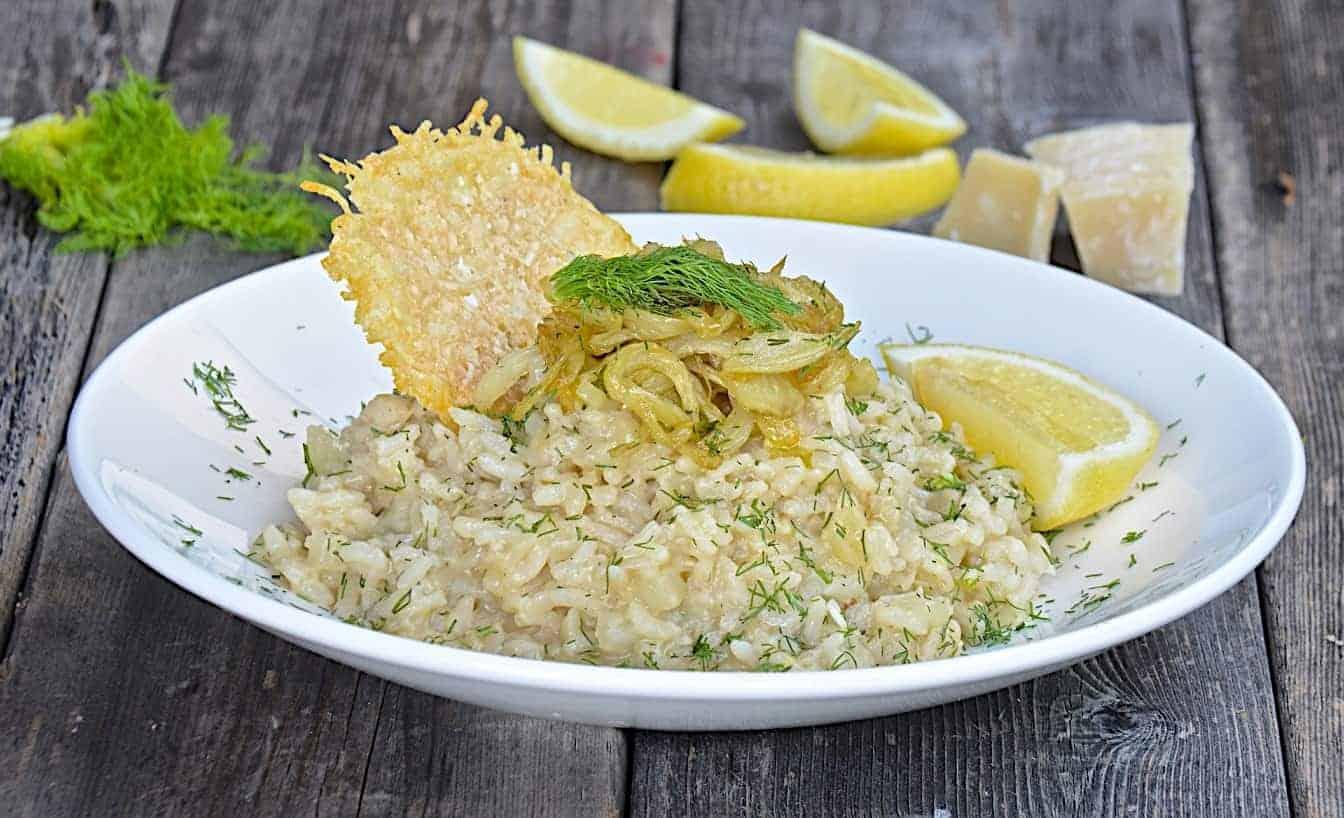 Fenchel-Risotto mit Zitrone: einfach genial
