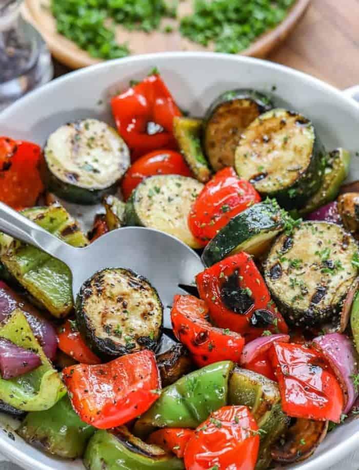 Grillgemüse, einfach toll zur Gartenparty