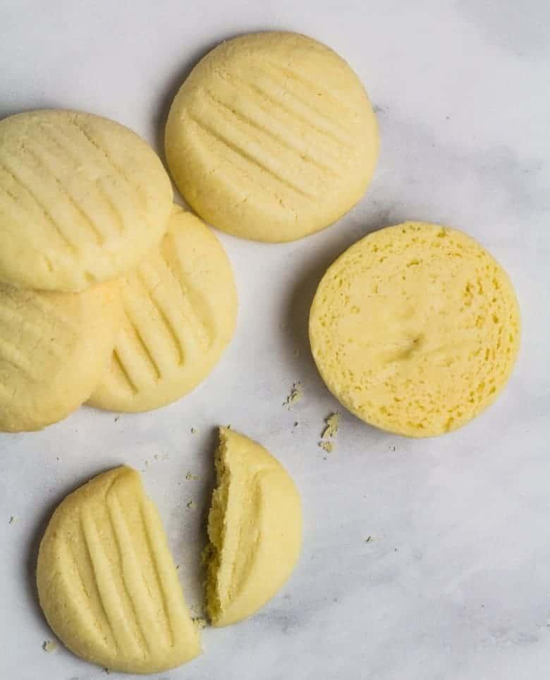 Kekse mit Speisestärke- schnell aus 5 Zutaten