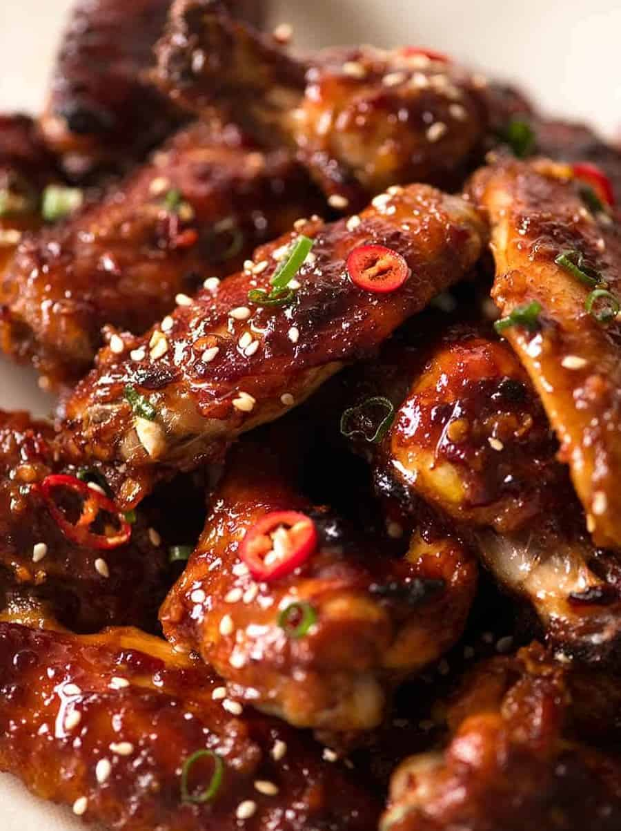 Würzige Chicken Wings nach asiatischem Rezept