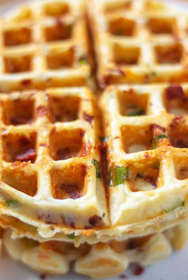 Herzhafte belgische Waffeln – das perfekte Frühstück