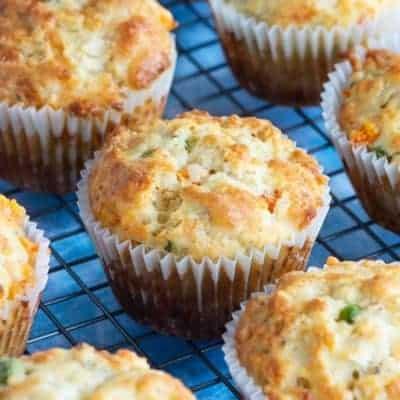 Muffins Rezepte, herzhafte Muffins