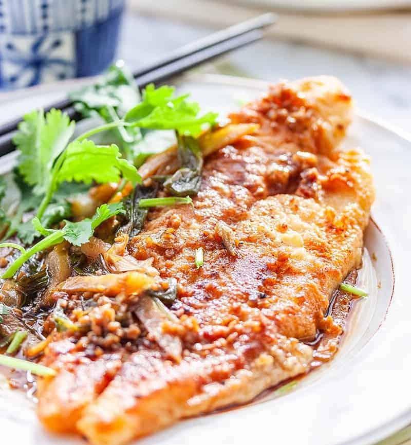 Pangasius, leckere Filets nach chinesischer Art
