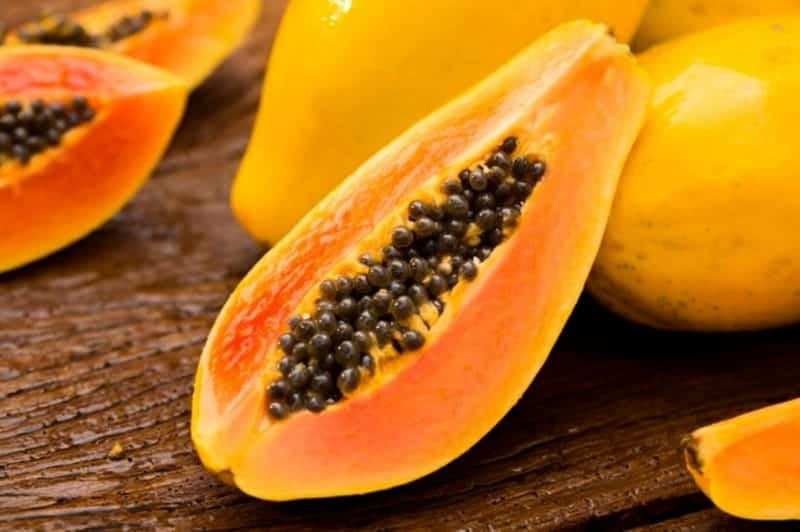 Papaya essen