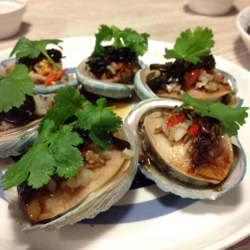 Abalone nach kantonesischer Art – großartig