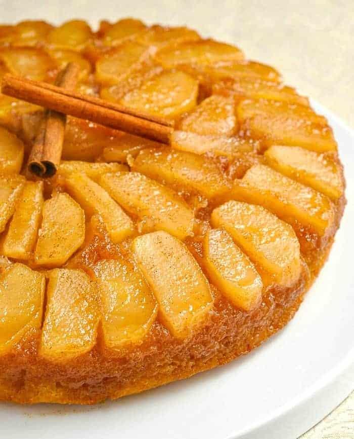 Apfelkuchen Rezept: der beste umgedrehte Kuchen