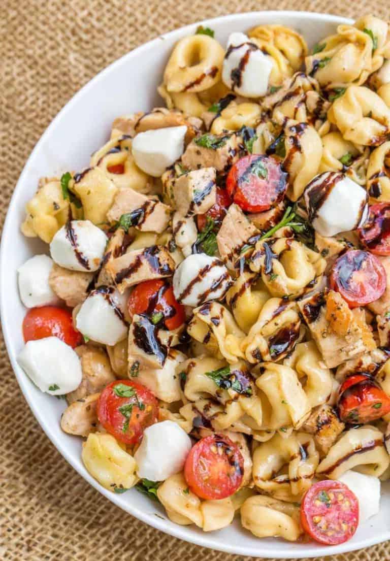 Tortellini-Salat mit Huhn: lecker in 30 Min.