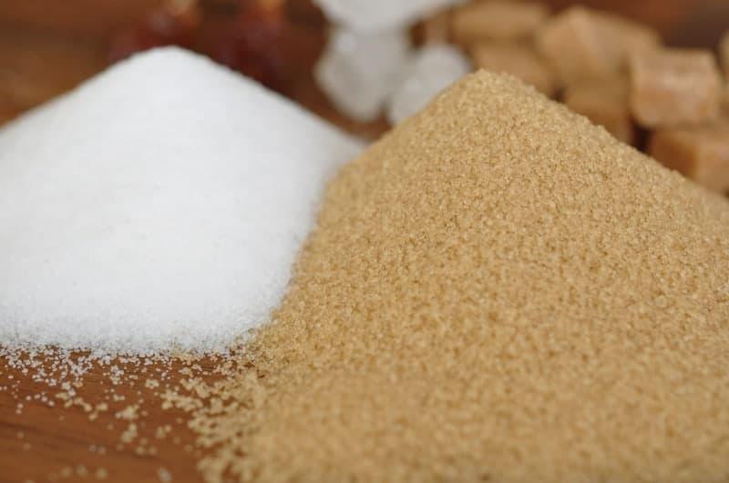 brauner Zucker verwenden