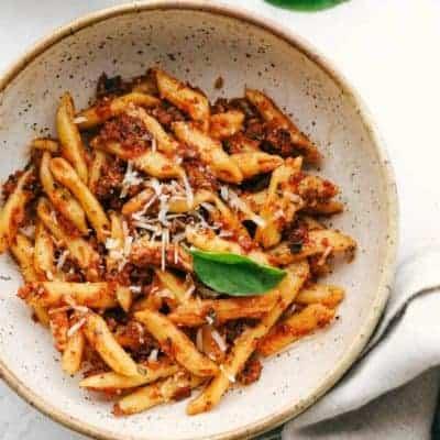Barilla Penne mit getrocknetem Tomaten-Pesto