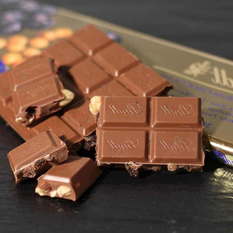Geschichte der Schokolade Lindt