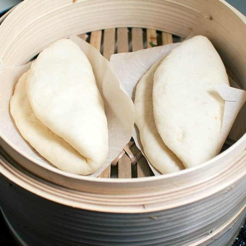 Bao Buns: herrliche Brötchen in Bambus Dampfgarer