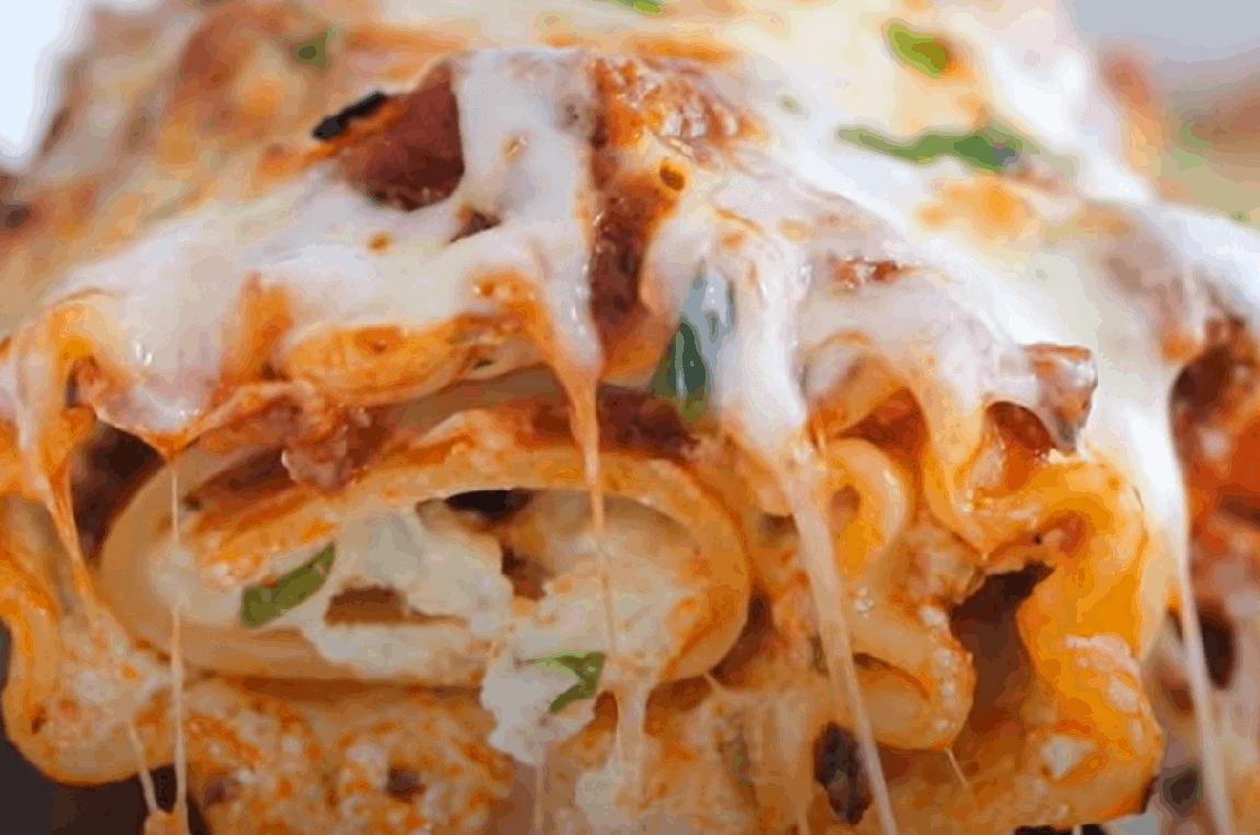 Grünkohl Rezept mit Ricotta, Pilzen und Cannelloni