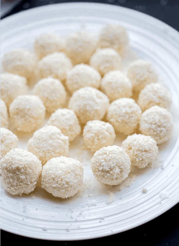 Raffaello Pralinen – so lecker aus 4 Zutaten