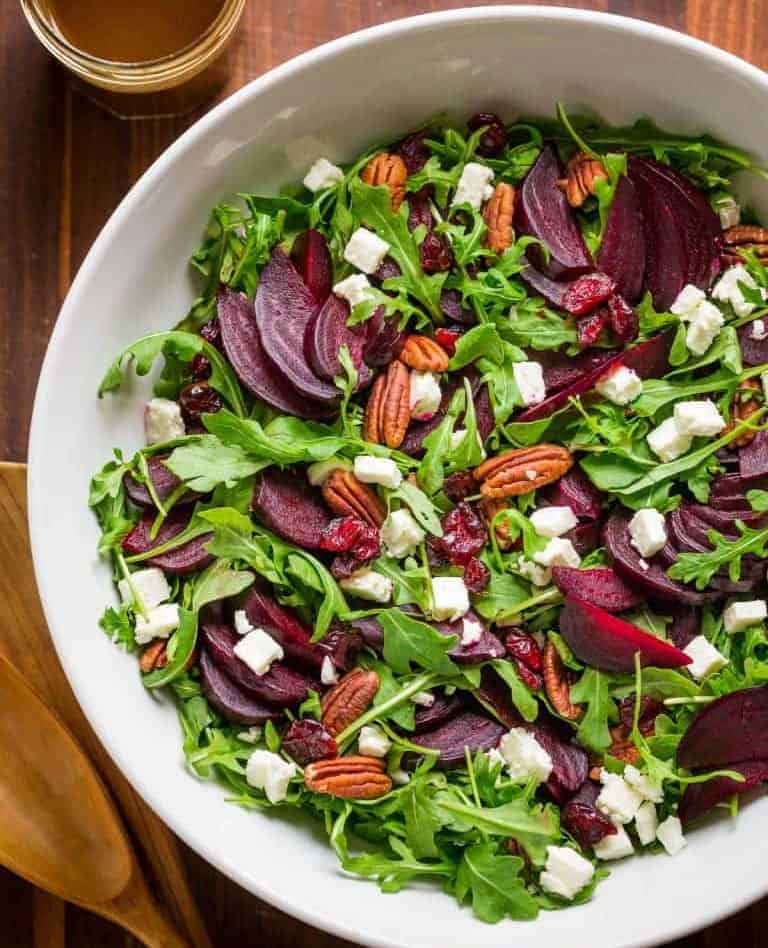 Rote Bete Salat – einfach bunt und gesund