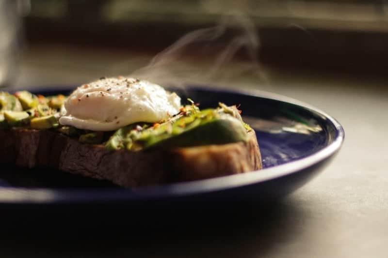 leckeres Sandwich mit Ei