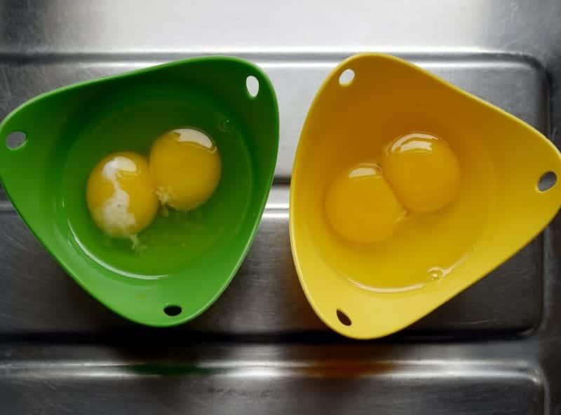 Eier machen zum Frühstück