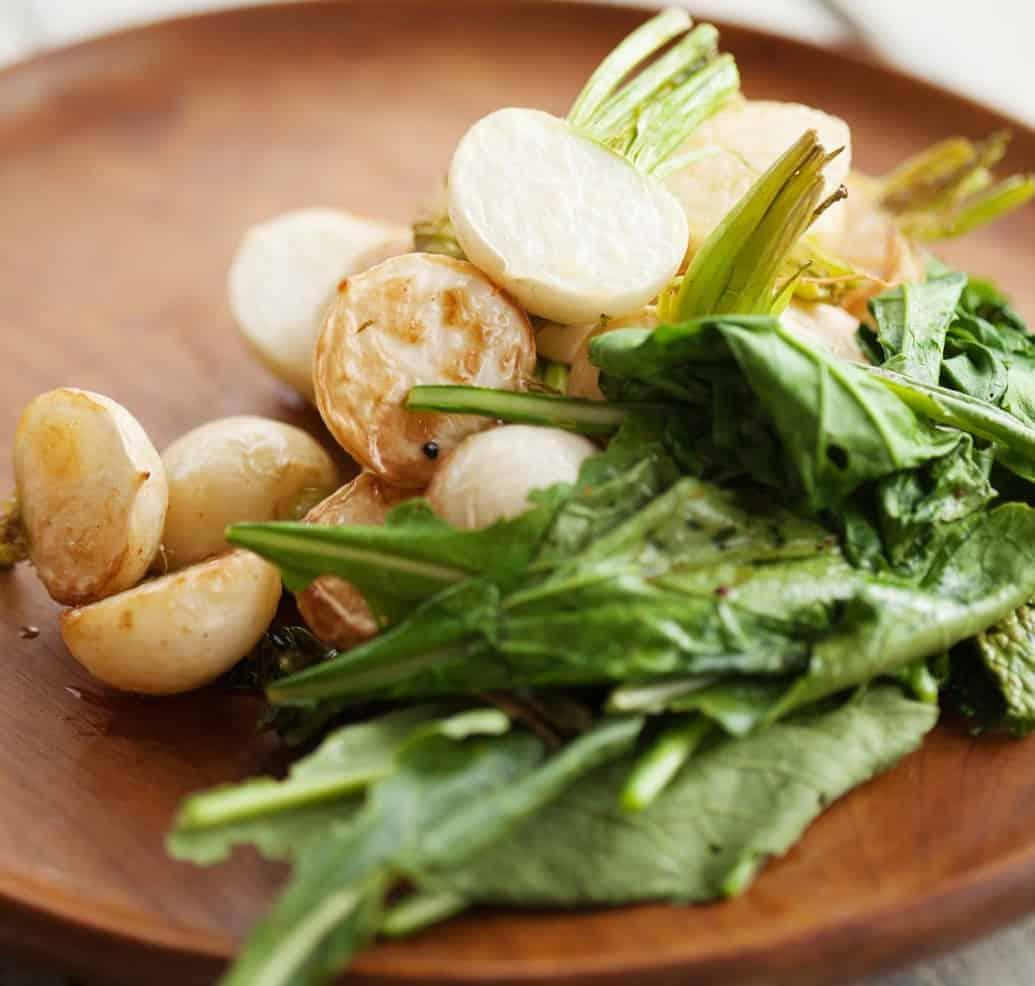 Köstlich geröstete Mairübchen, ein flottes Rezept