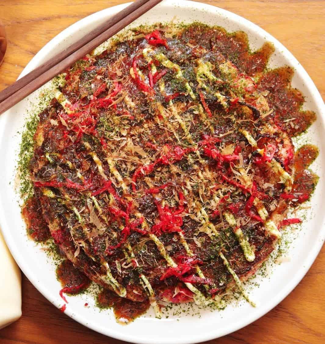 Okonomiyaki – einfach lecker japanisch – 30 Min