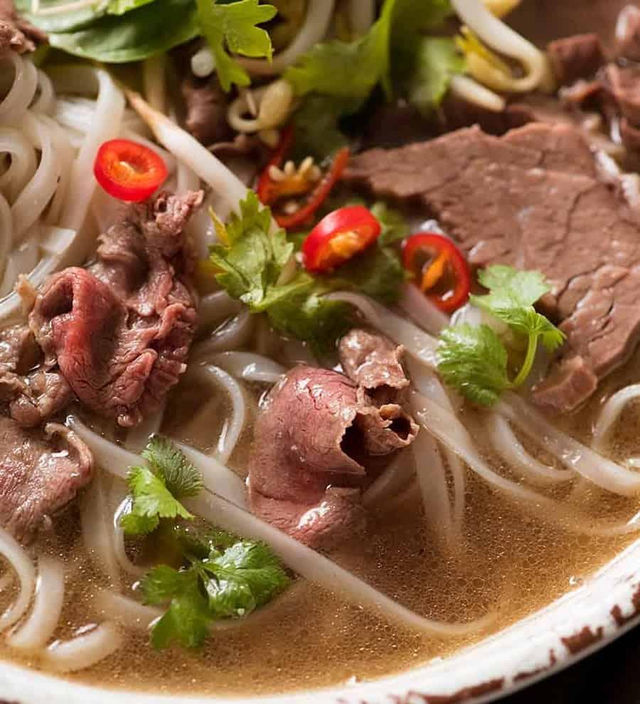 Pho – einfach unschlagbar vietnamesische Suppe