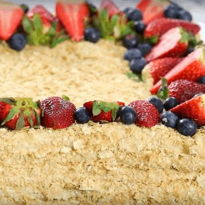 Blätterteig Rezepte, Napoleon Kuchen