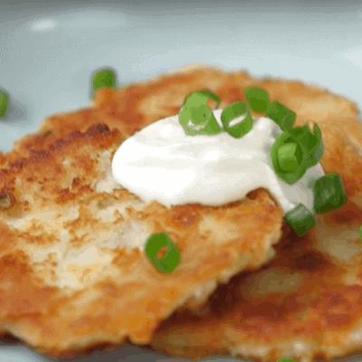 Kartoffelgerichte, Kartoffelpfannkuchen