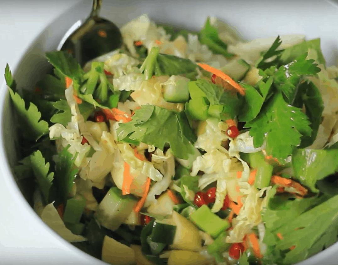 Selleriesalat: gesund und lecker in nur 5 Min.