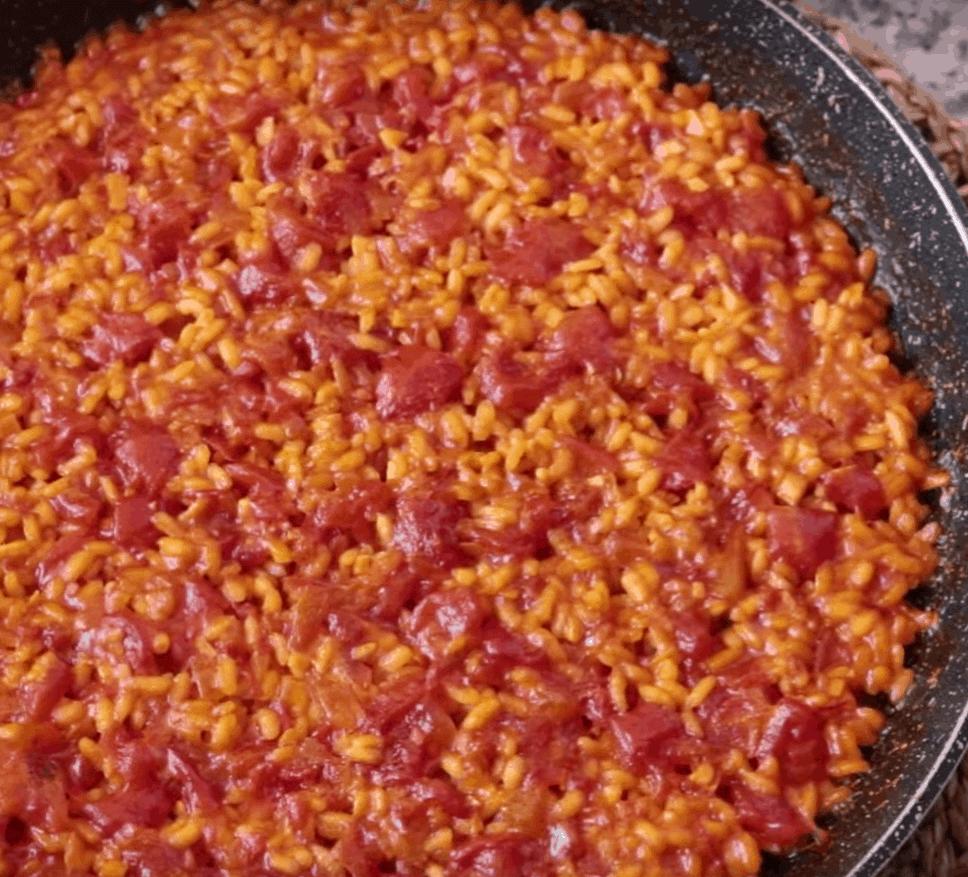 Tomatenreis, simpel und lecker in 2 Schritten