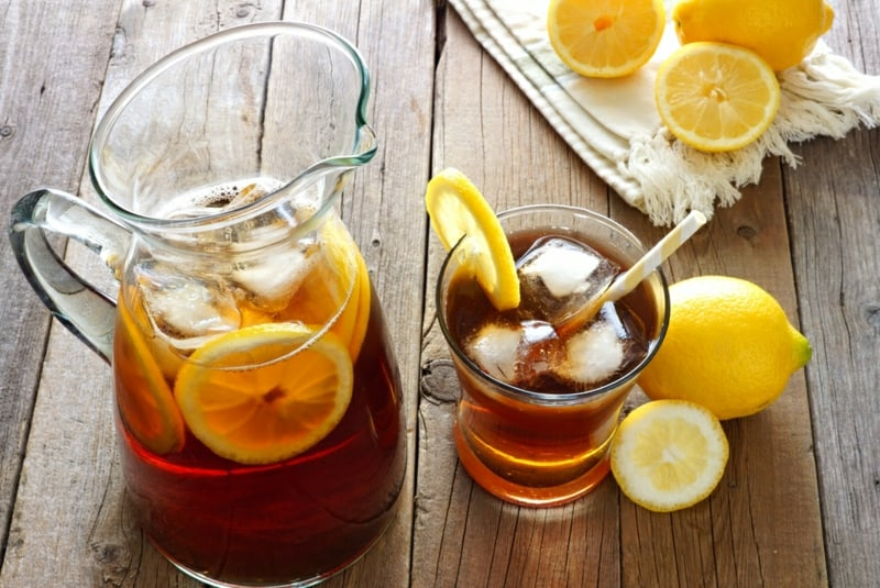 Super erfrischenden Zitronen Eistee selber machen