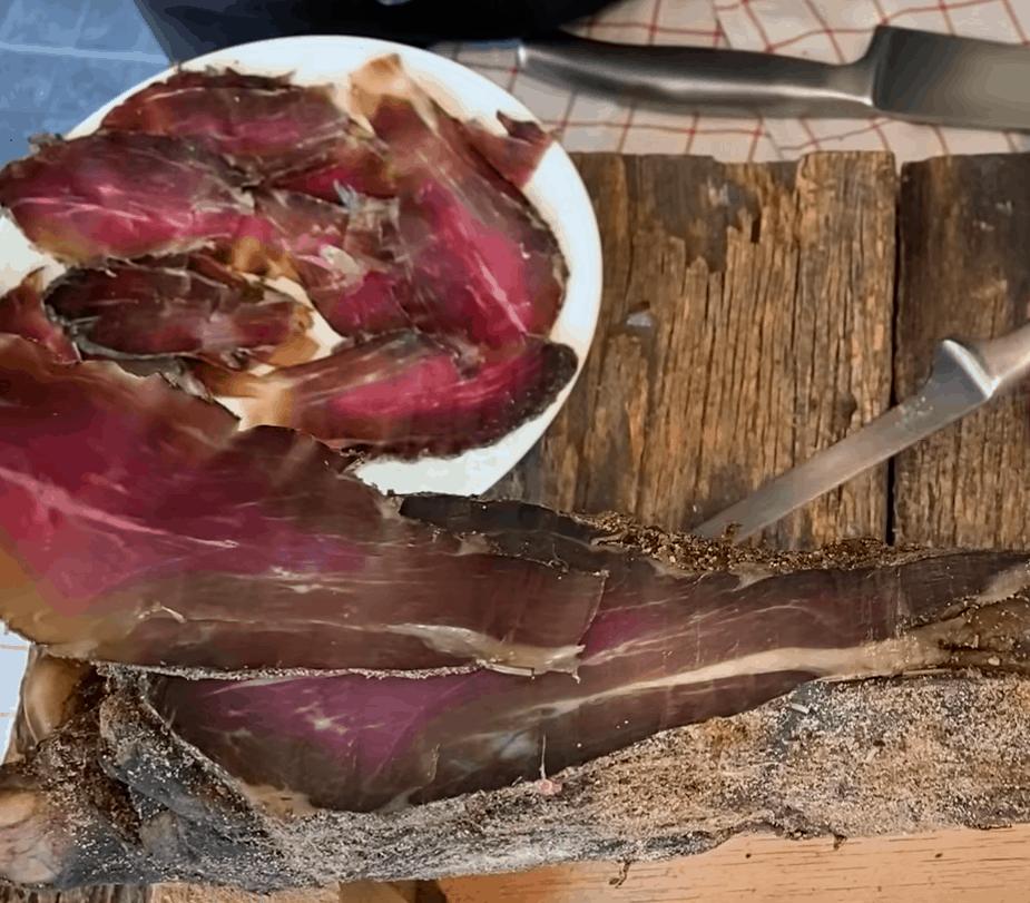 Proscuitto: hausgemacht und absolut lecker