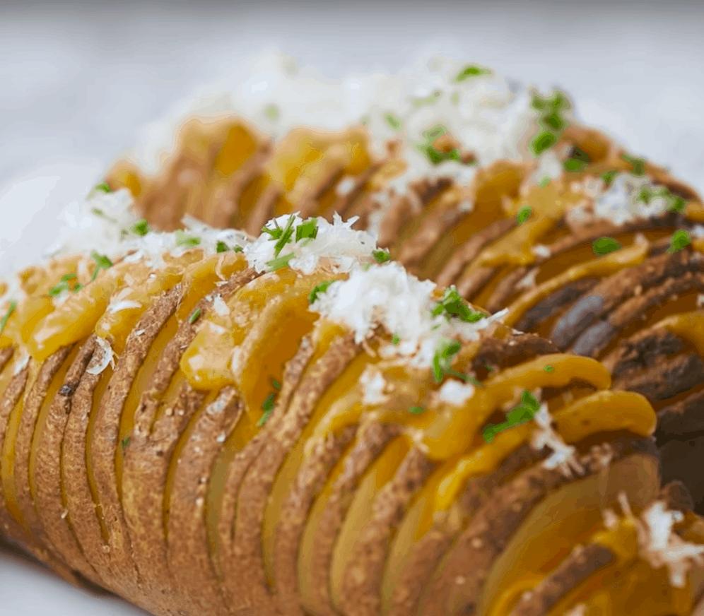 Ofenkartoffel: 2 x gebacken und super lecker!