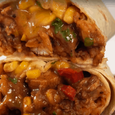Burritos mit Hühnchen