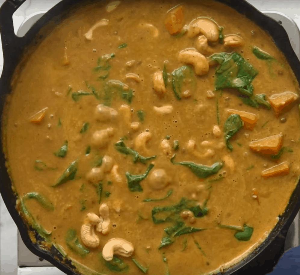 Currysoße mit Linsen: lecker in 3 Schritten